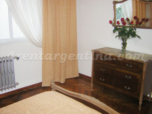 Junin and Bme. Mitre: Furnished apartment in Congreso