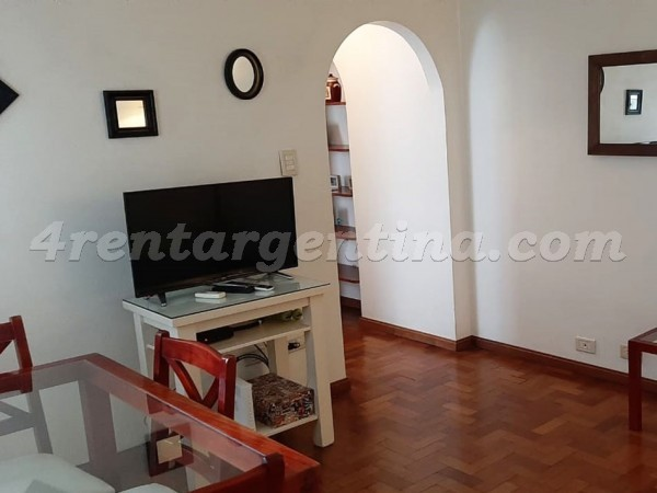 Appartement Juncal et Anchorena - 4rentargentina