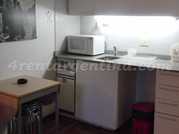El Lazo and Cabello I: Furnished apartment in Palermo