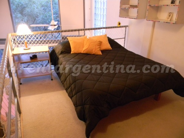 El Lazo and Cabello I: Apartment for rent in Buenos Aires