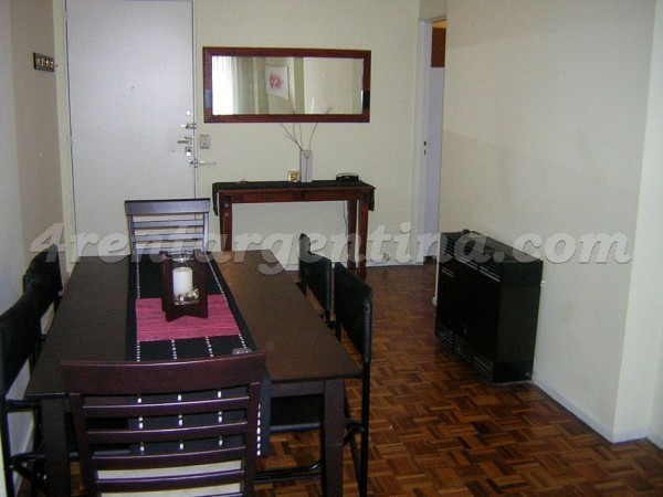 Cerrito and Rivadavia: Furnished apartment in Congreso
