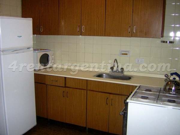 Cerrito and Rivadavia, apartment fully equipped