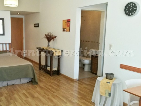 Corrientes and Gascon III, apartment fully equipped