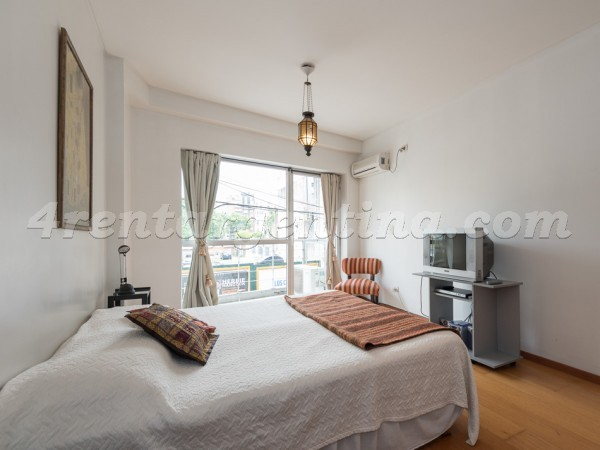 Azcuenaga et Las Heras: Furnished apartment in Recoleta