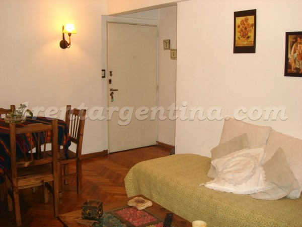 Mansilla and Billinghurst: Apartment for rent in Palermo