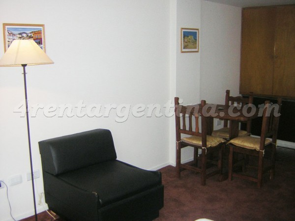 Maipu and Corrientes I, apartment fully equipped