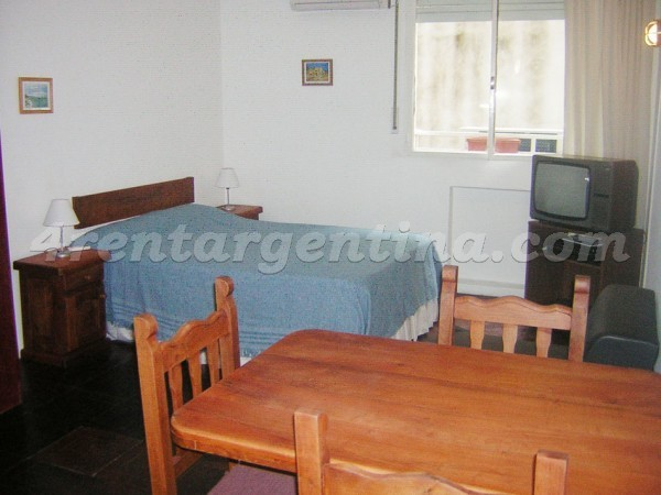 Apartment Azcuenaga and Beruti - 4rentargentina