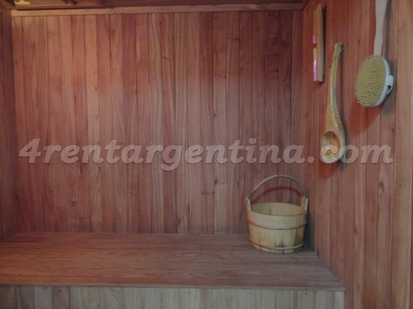 Corrientes and Gascon, apartment fully equipped
