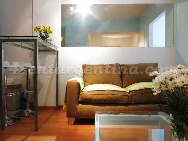 Suipacha et M.T. Alvear I: Apartment for rent in Buenos Aires