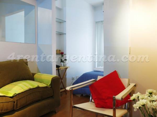 Suipacha and M.T. Alvear I, apartment fully equipped