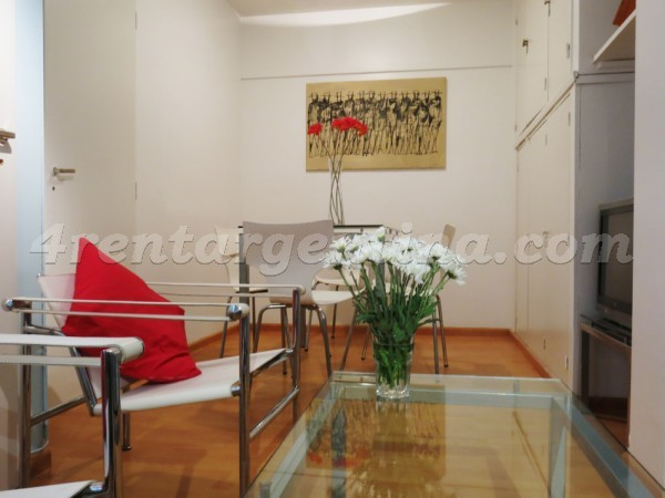 Suipacha et M.T. Alvear I: Furnished apartment in Downtown