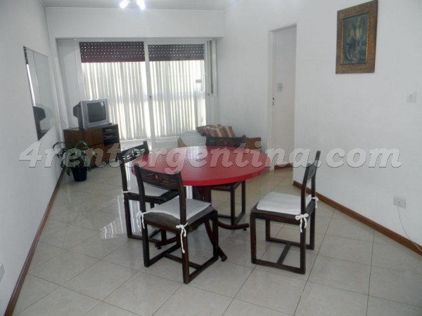 Coronel Diaz and Paraguay, apartment fully equipped