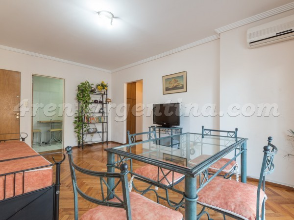 Juncal and Oro: Furnished apartment in Palermo