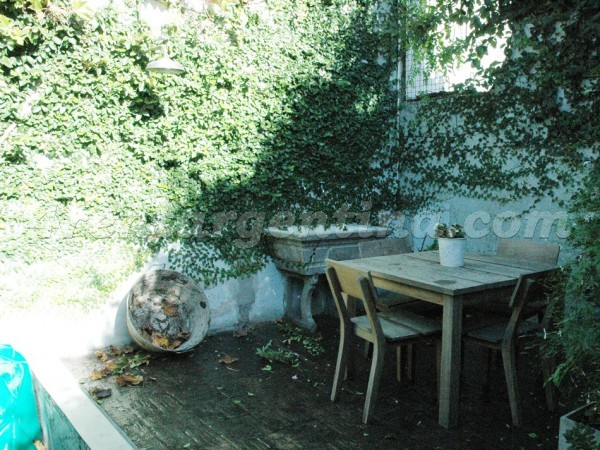 Thames et Cabrera: Furnished apartment in Palermo