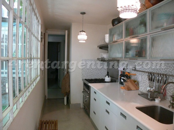Thames and Cabrera: Furnished apartment in Palermo